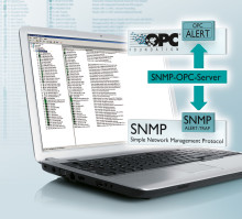 New SNMP OPC Server for Network Monitoring