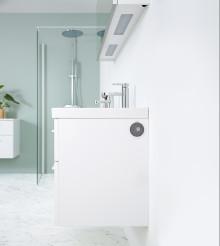 Stream dine playlister via badeværelsesmøbler fra Aspen