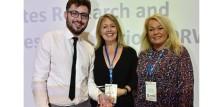 DRWF fick prestigefyllt pris för sitt arbete inom diabetes