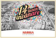 Arboga växer och är nu över 14 000 invånare