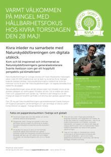 Mingel med hållbarhetsfokus