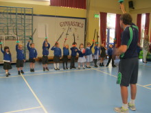 Primary pupils annual Movement & Dance Display