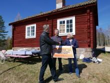 Kronstugan vid Granbergs fäbod renoveras och öppnas för besökare