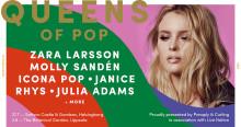 JANICE  + RHYS + JULIA ADAMS KLARA FÖR QUEENS OF POP
