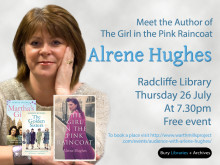 ​Meet author Alrene Hughes at Radcliffe Library
