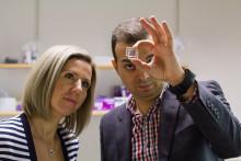 Genomskinliga solceller kan driva dynamiska glas i smarta fönster