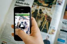 """Metro experimenterar med """"augmented reality"""""""