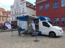 Beratungsmobil der Unabhängigen Patientenberatung kommt am 23. Juli nach Greifswald.
