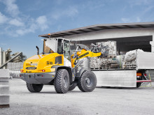 World premiere for a wheel loader with stereo steering