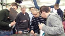 Metod identifierar osynliga skarvar inför lasersvetsning