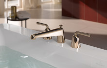New classic three-hole basin mixer – Domicil blends timeless beauty with modern design