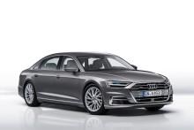 Verdenspremiere på den nye Audi A8