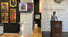 Ikonisk russisk auktion - hammerslag på 27,6 mio. kr.