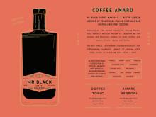 Mr Black Coffee Amaro Tasting Notes