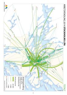 Revidering; Allt fler pendlar ut från Stockholm