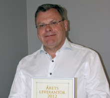 Elektroskandia har utdelat utmärkelsen Årets leverantör 2012 till GARO AB