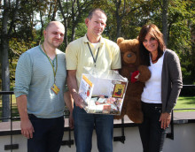 DHL-Sommerfest: Betriebsrat sammelt für Bärenherz