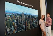 LG esitteli IFA-messuilla maailman ensimmäisen 8K OLED -television