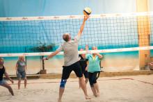 Beachvolley med kollegorna - Beach Center Cup 27/10