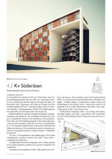 Arkitektens beskrivning av kvarteret Söderåsen