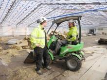 Stort rivningsprojekt på Danderyds Sjukhus