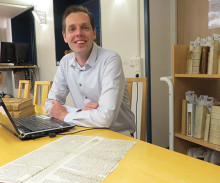 Stiftsbiblioteket tar plats i Holland