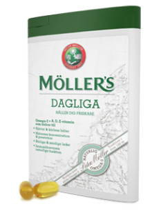 Möller's Dagliga - omega-3 med A, D och E-vitamin