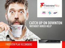 Freeview Play now available on Panasonic's 2015 range of PVR and Blu-Ray Recorders