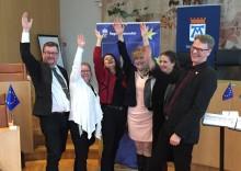 Ett handslag för ökat EU-engagemang i Västmanland