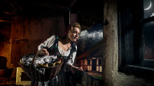 Tag til dansk halloween på Frilandsmuseet