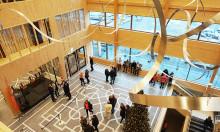 Unikt centrum för idrott och kultur invigs i Knivsta