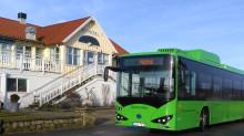Nobina, Skånetrafiken och Ängelholms kommun tillsammans i Sveriges första stadsbussystem med elbuss