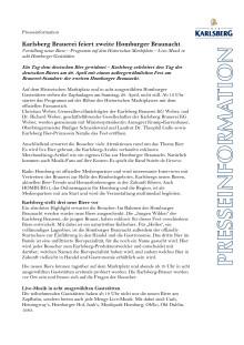 Pressemitteilung Homburger Braunacht 2017