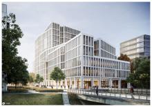 Byggstarten för LINK Business Center klar