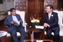 Blueair CEO Bengt Rittri meets with  Indian Transport and Highways Minister Mr. Nitin Gadkari, discusses clean air projects