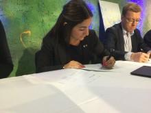 Sverigeförhandlingen: Avtal undertecknat för Roslagsbanans förlängning till city