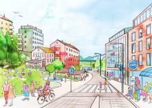 10 000 nya bostäder i Huddinge till år 2030