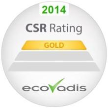 Toyota Material Handling sai jälleen EcoVadiksen kultaisen sertifioinnin