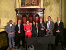 Eutelsat takes home SSPI Better Satellite World Award for its support of the Crisis Connectivity Charter