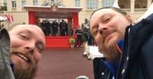 Brødre fikk opplevelse for livet som VIP-gjester på Rally Monte Carlo