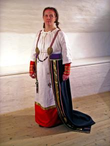 Vikingakvinnans klädsel såg inte ut som vi trott