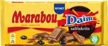 Salt möter sött i nya Marabou Daim Saltlakrits