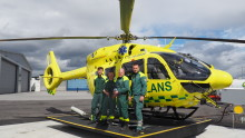 Bluewater Helps Stockholm's Airborne Paramedics Stay Fit For Flight On The Covid Front Line