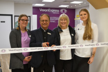 Vision Express puts 'silent thief of sight' in the frame during official opening of new optical store in Ely