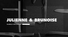 Globals knivskola: Julienne & brunoise