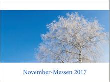 November-Messen jetzt online!
