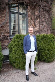 Fredrik Ekelund ny sjef for Quality Hotel i Norden