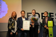 Gävle vinnare av Laddguldet 2017