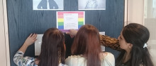 Plusgymnasiet Jönköping anordnar temadagar i regnbågens färger