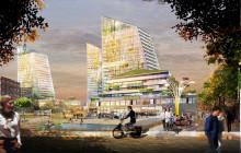Se Kod Arkitekters förslag till nya bostadskvarter i Kista